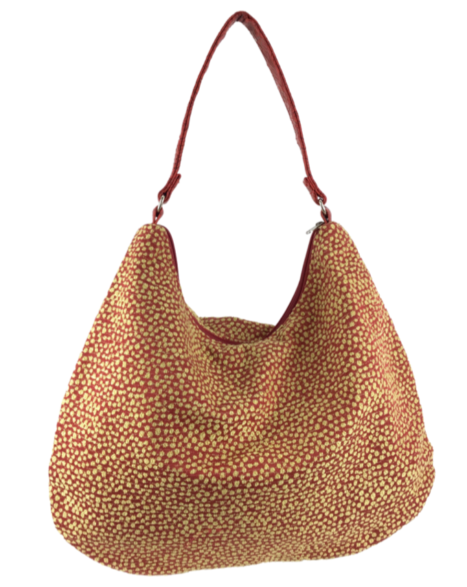 Victoria Hobo Red Pebble