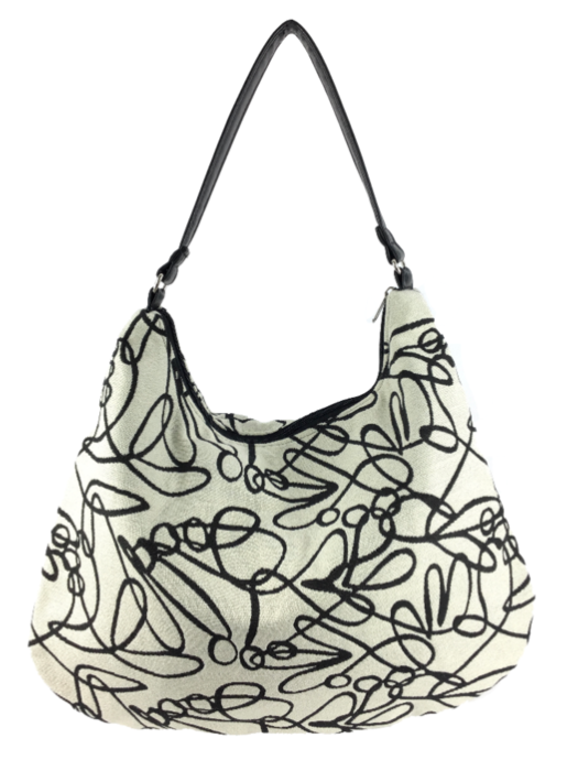 Victoria Hobo Signature Fabric