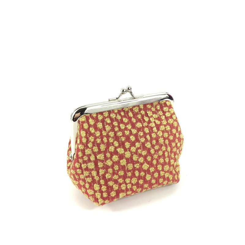 Coin Purse - Red Pebble