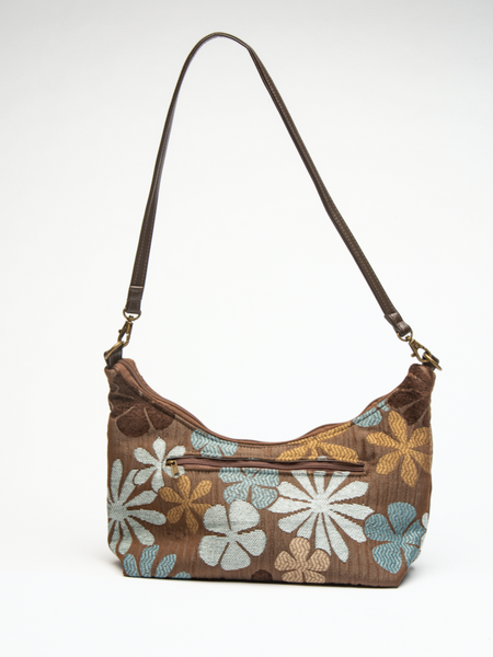 Hayley Blue & Brown Floral