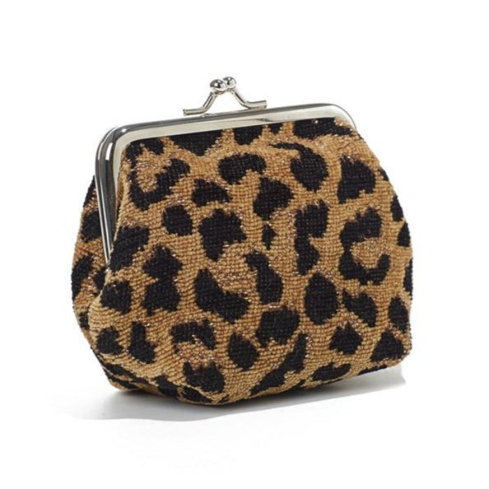 Coin Purse - Leopard Gold