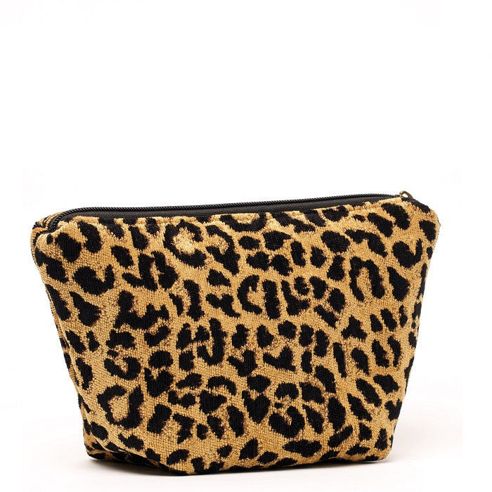 Cyndi Cosmetic Bag Leopard