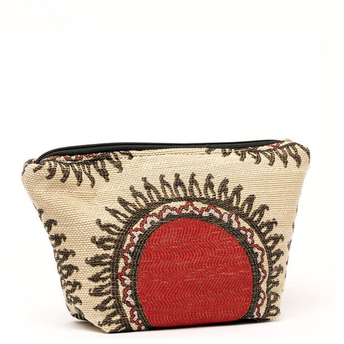 Cyndi Cosmetic Bag Sunfire