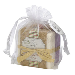 San Francisco Soap Co. Be Well 2 pc Holiday Soap Pack