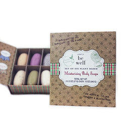 San Francisco Soap Co. Be Well 6 pc Holiday Soap Set