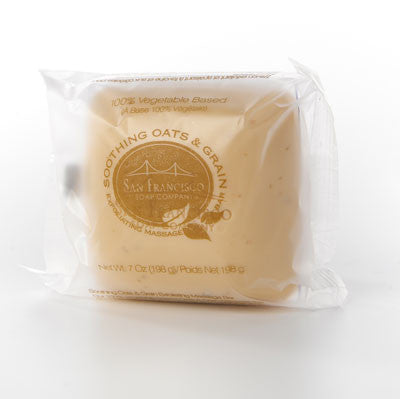 San Francisco Soap Co. Exfoliating Massage Bar - Oats & Grain