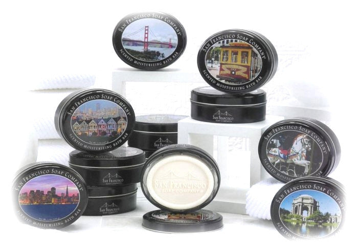 San Francisco Soap Co. Landmark Keepsake Tins