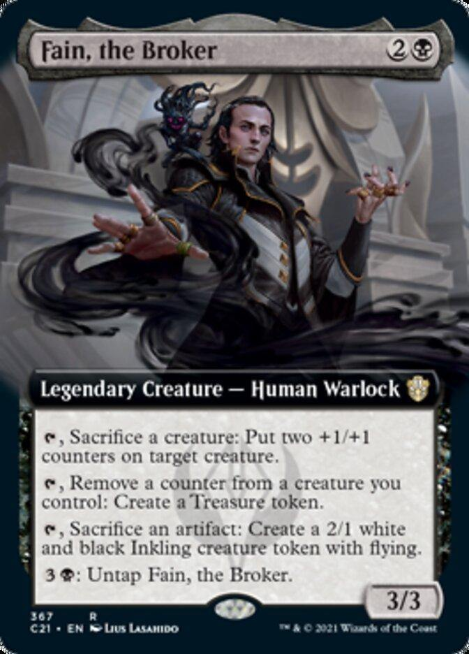 Fain, the Broker (Extended) [Commander 2021] - Cape Fear Collectibles