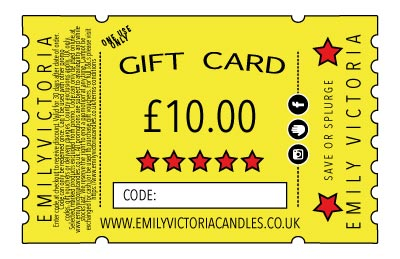 Emily Victoria Gift Card