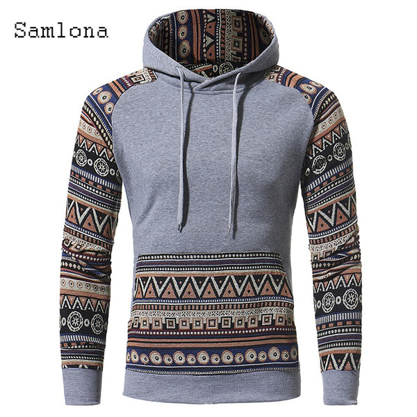 Plus size 3xl Hoodies Sweatshirt Men's Fashion Casual Long Sleeve Patchwork Color Men Clothes Autumn Hooded Tops Streetwear 2020