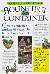 Bountiful Container by Rose Marie Nichols McGee