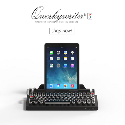 a22c665c3ab The New Qwerkywriter® S works with iOS/Android/MacOS/WIN