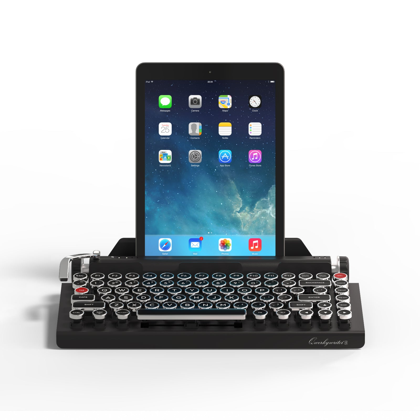Qwerkywriter S Hero with Tablet