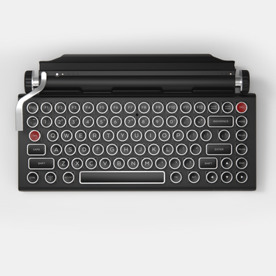 QWERKYWRITER® S TYPEWRITER-INSPIRED® MECHANICAL KEYBOARD