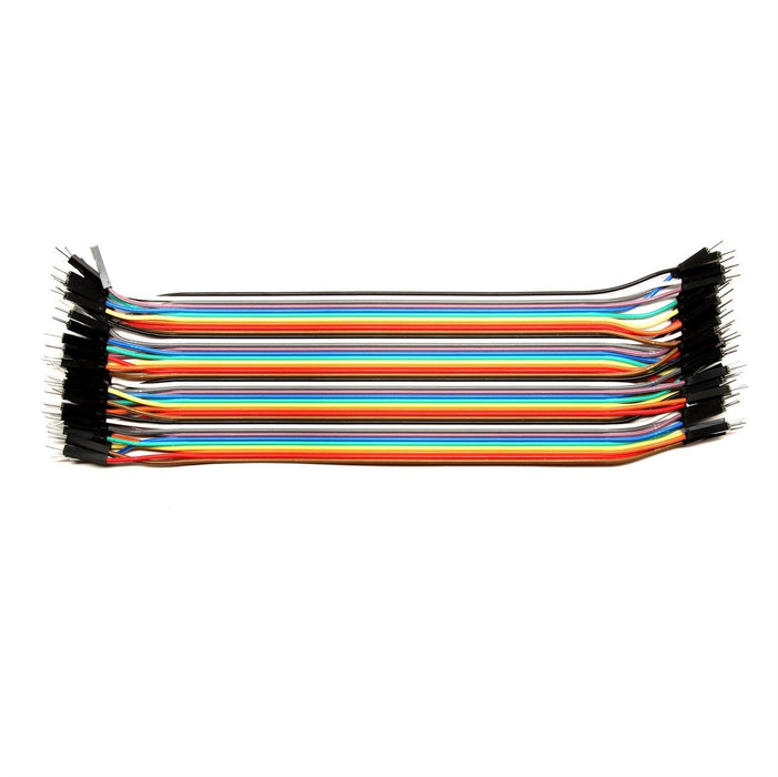 Cable jumper dupont 20 cm - Varios tipos - ElectroCrea
