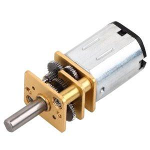 Motor DC con reductor 30 RPM