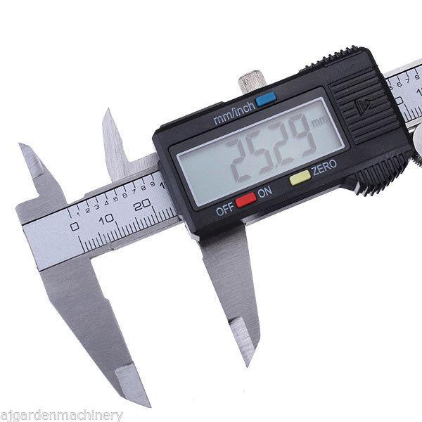 "Vernier Pie de Rey Digital 6"" 150mm - ElectroCrea"