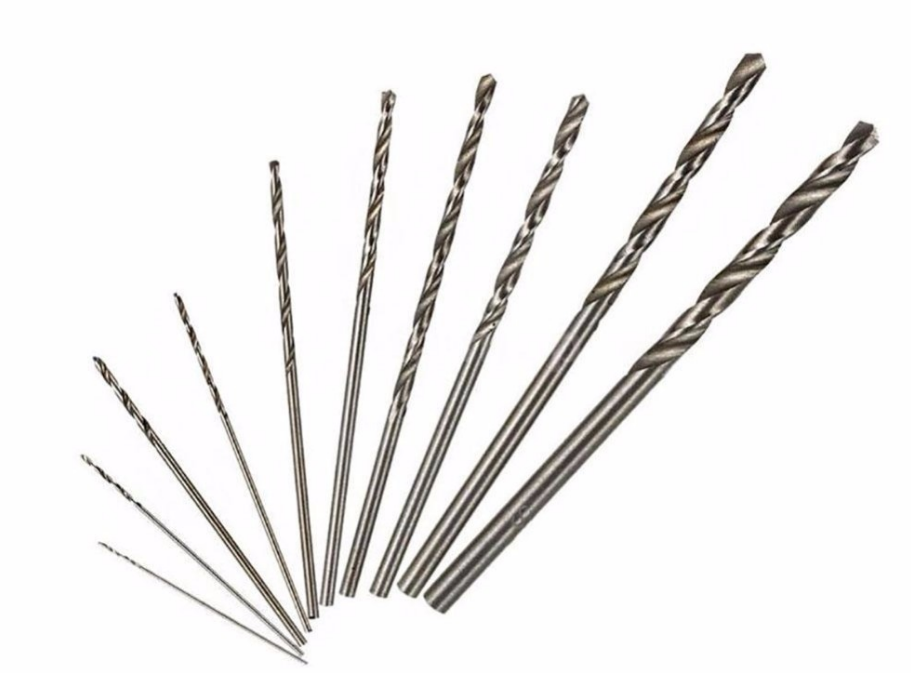 Kit de brocas 10 brocas 0.5 / 1.0 / 1.5 / 2.5 / 3.0mm - ElectroCrea