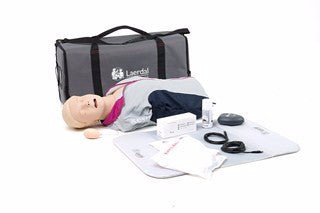 Laerdal Resusci Anne QCPR Airway Head - Torso