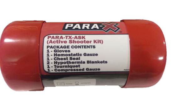 PARA-X Treatment Tube- Active Shooter Kit (ASK)