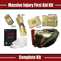 PARA-X MASSIVE INJURY FIRST AID KIT