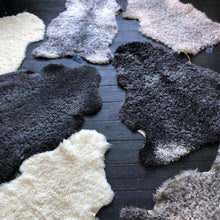 Luxury Gotland Sheepskin in Grey and Silver Tones - NORR - Nordic life and design