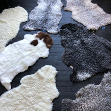 Luxury Gotland Sheepskin in Silvery Brown and White Tones - NORR - Nordic life and design
