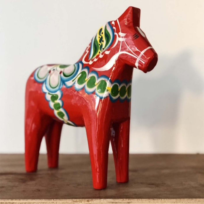 Norr - Swedish Hand Made Dala Horse - Original By Nils Olsson 20cms