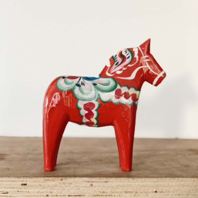 Norr - Swedish Hand Made Dala Horse - Original By Nils Olsson 7cm