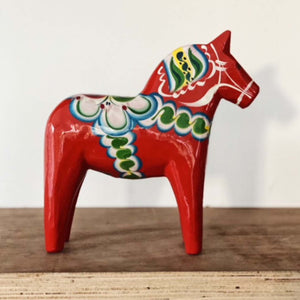 Norr - Swedish Hand Made Dala Horse - Original By Nils Olsson 13cm