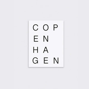 Copenhagen Print on 310gsm Fine Art Paper, Giclee Printed - Unframed - NORR - Nordic life and design