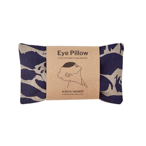Linen Eye Pillow - Hot and Cold pack - Yoga and Body - Creatures Navy - Norr - nordic life and design