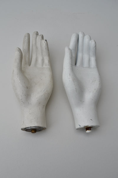 Vintage Mannequin Hands - White - 1940's SOLD OUT