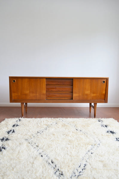 Danish Designed Teak Sideboard/Credenza by Elliotts of Newbury - 1960's - SOLD