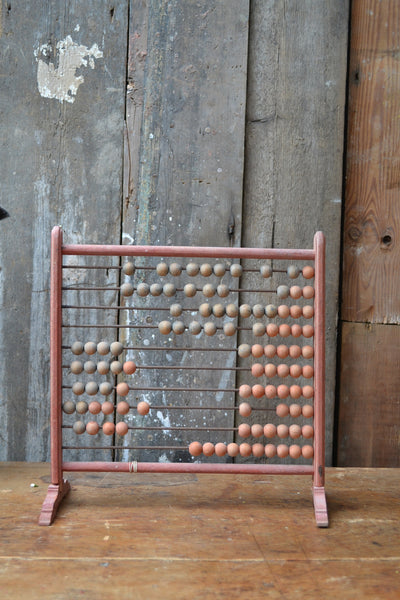 Vintage Wooden Abacus - SOLD