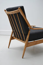 Pair of Vintage Solid Beech Arm Chairs - Mid Century Modern 1950's SOLD