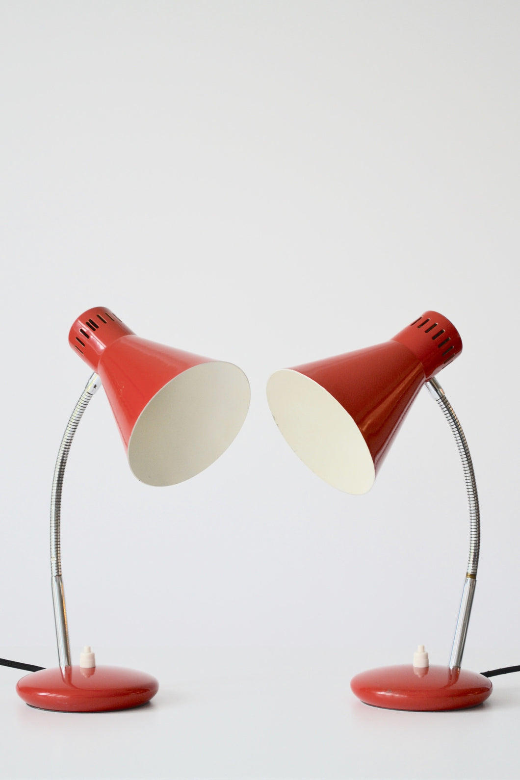 Pair Of Italain Mid Century Desk Lamps by Stilnovo - Mid Century Modern - 1960's - SOLD