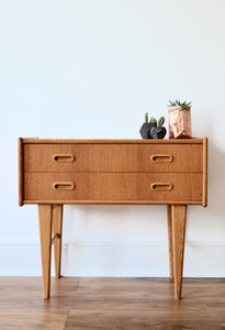 Vintage Danish Teak Chest of Drawers - 1960's - Mid Century Modern