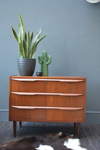 Danish Solid Teak Chest of Drawers - SOLD OUT