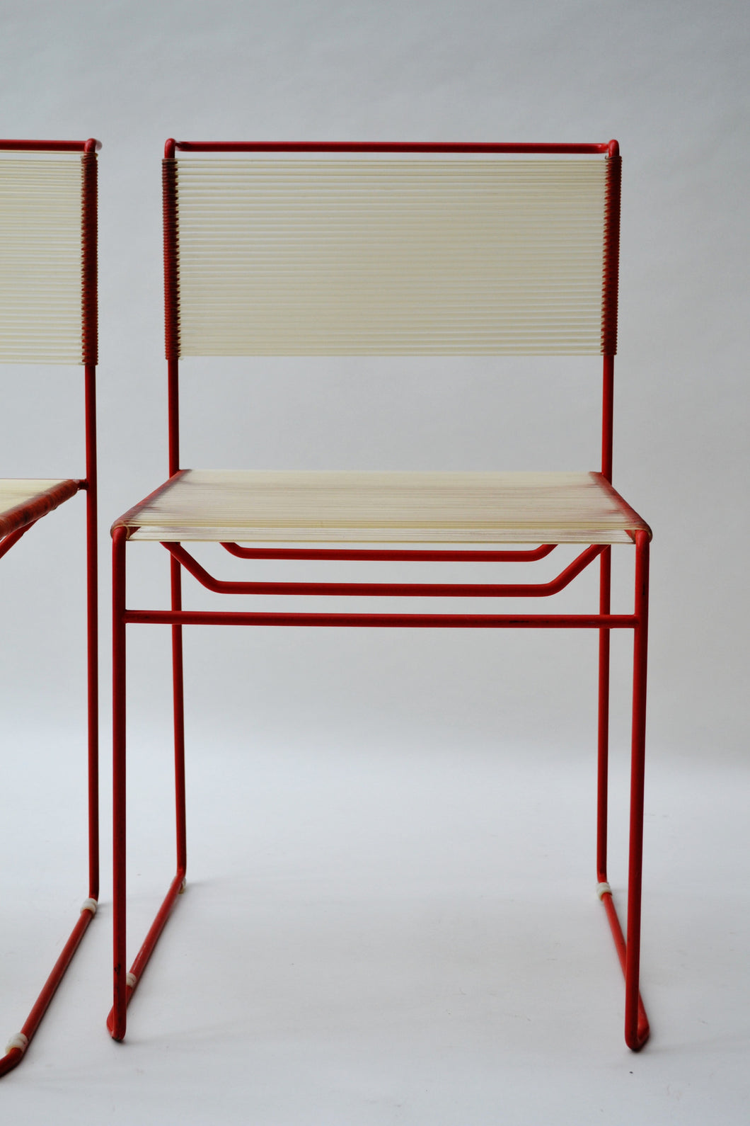 A Pair of Italian FlyLine Chairs - Mid Century Modern 1970's - SOLD