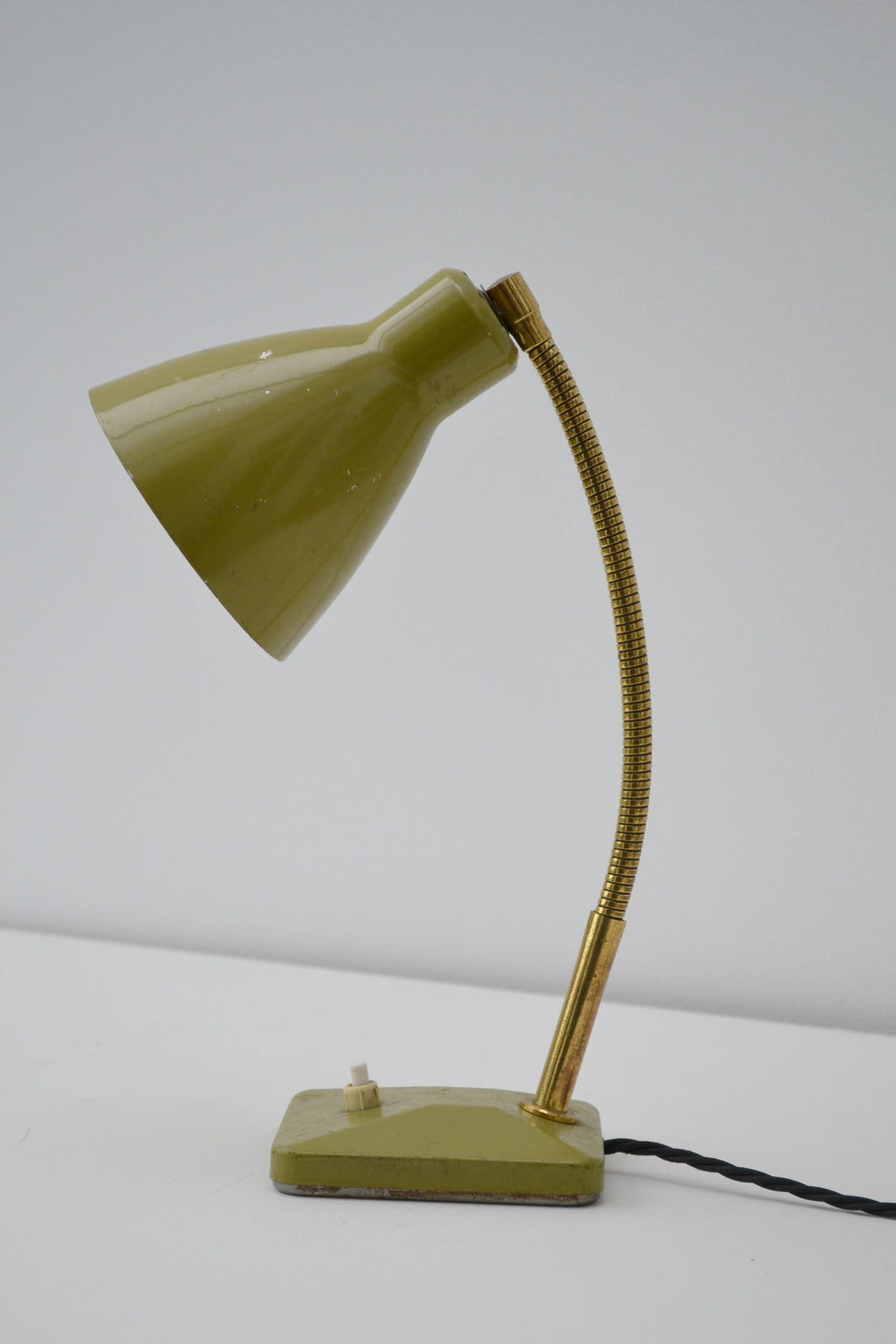 Vintage French Desk Lamp - Mid Century Modern SOLD