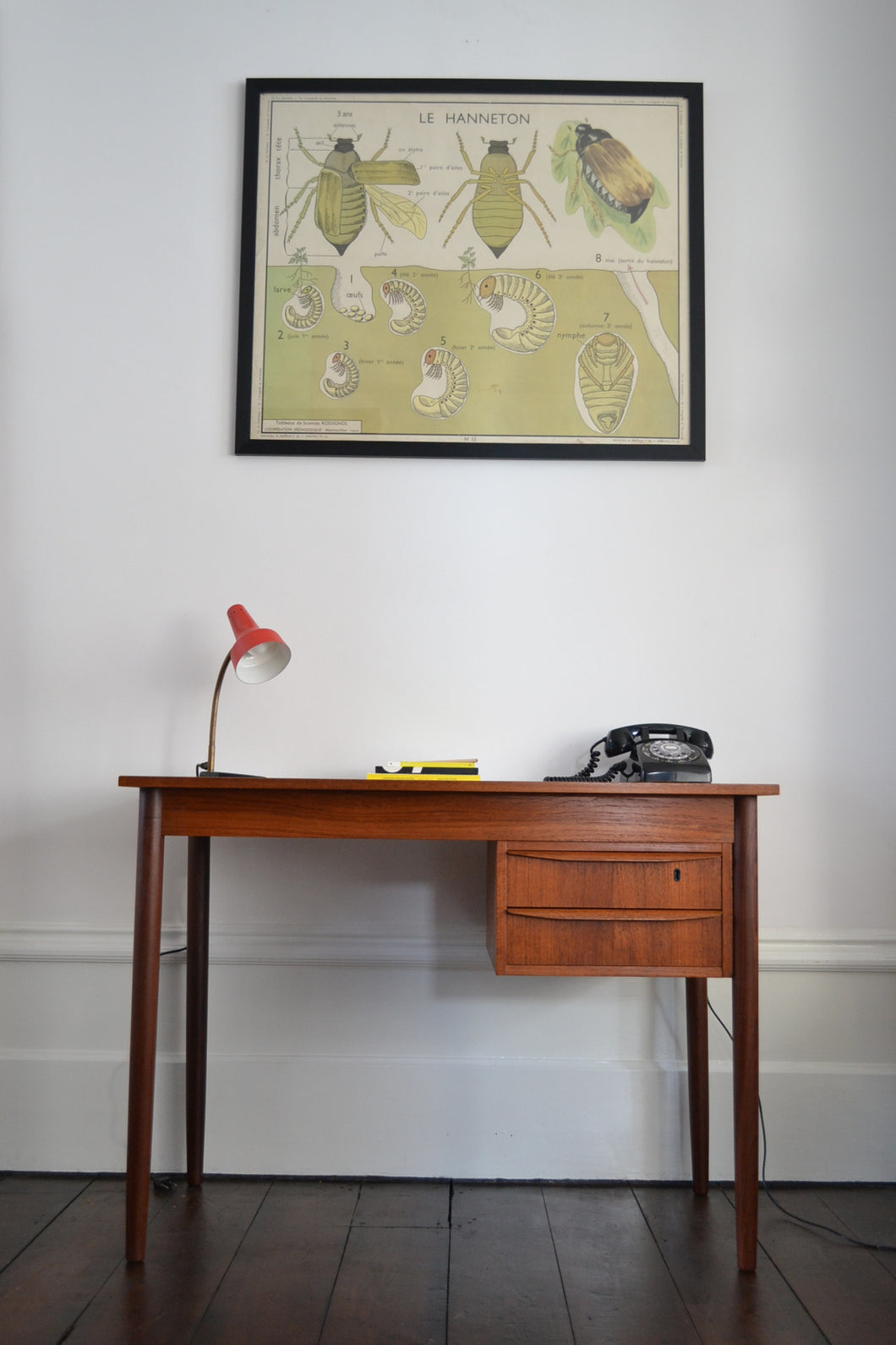 Danish Teak Writing Desk - SOLD OUT
