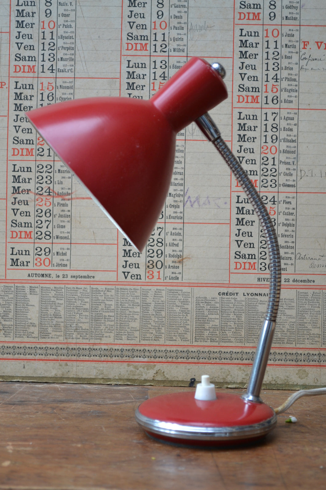 Vintage French Desk Lamp - SOLD OUT