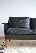 "Danish Mid Century Modern ""Love Seat"" Sofa by Hans Olsen - SOLD"