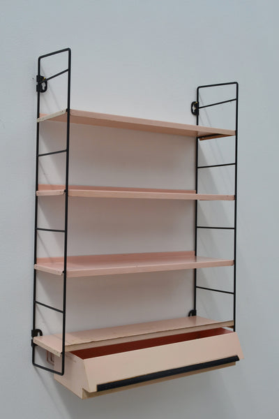 Tomado Vintage Dutch Wall Shelving With Drawer - 1950's - SOLD