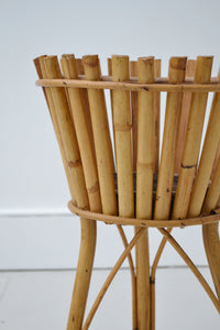 Vintage Bamboo Plant Stand by Rosenthal - Italian Mid Century Modern - SOLD