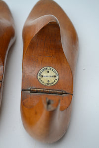 Pair of Antique Shoe Lasts By Hook Knowles and Co. - 1890-1910 SOLD