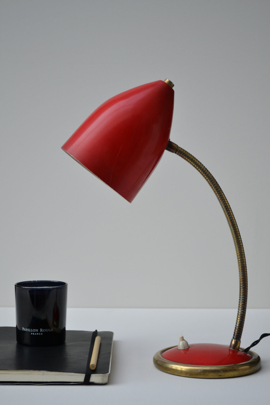Vintage French Desk Lamp - 1960's - SOLD