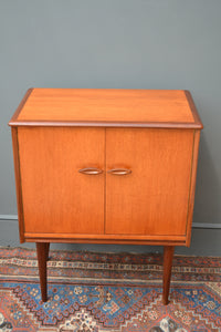 Mid Century Modern Teak Record Storage Cabinet SOLD OUT