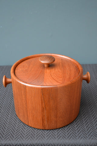Danish Teak Ice Bucket